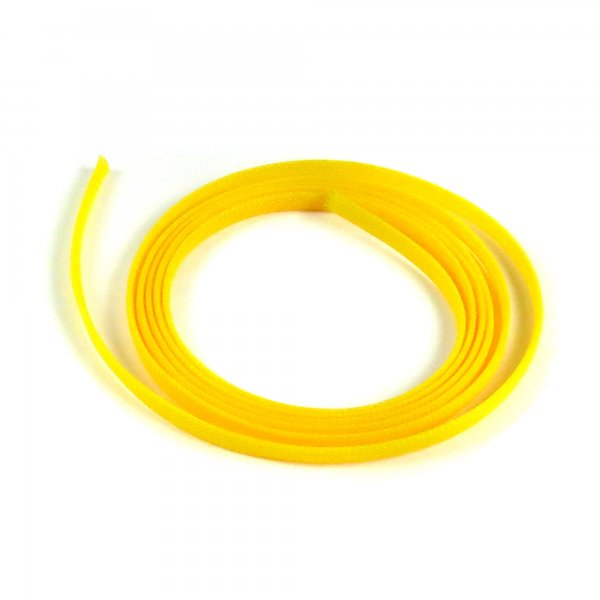 "5/8"" Yellow Ultra Wrap Wire Loom - 10 Feet || Keep It Clean Wiring"