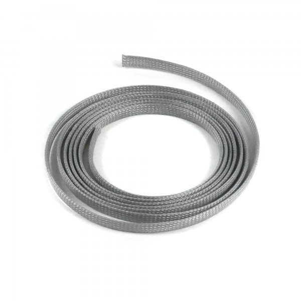 "1/4"" Grey Ultra Wrap Wire Loom - 10 Feet || Keep It Clean Wiring"