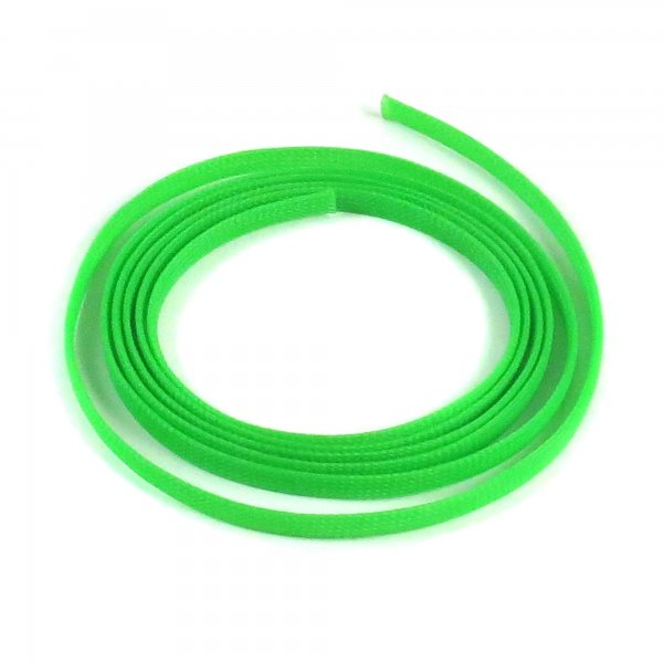 "1/4"" Green Ultra Wrap Wire Loom - 10 Feet || Keep It Clean Wiring"