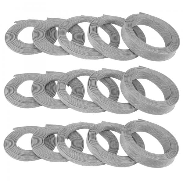 "5/8"" Grey Ultra Wrap Wire Loom - 150 Feet || Keep It Clean Wiring"