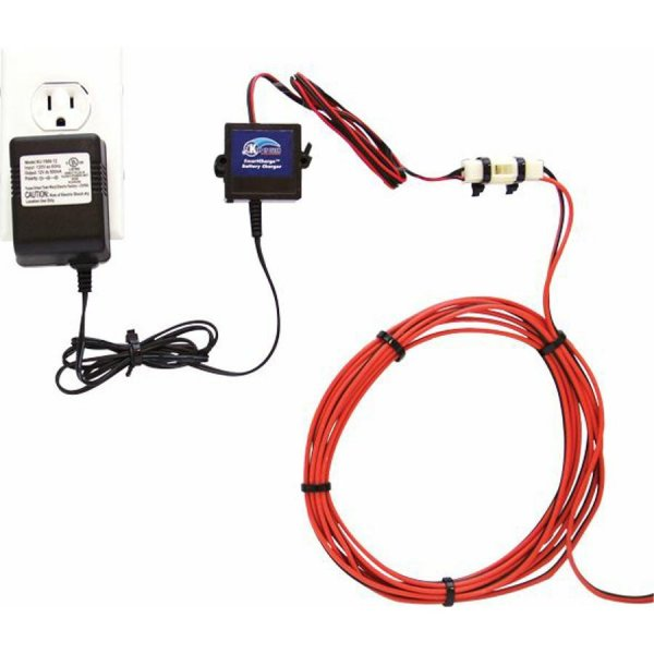 600 battery charging system with plug n play harness keep it clean wiring