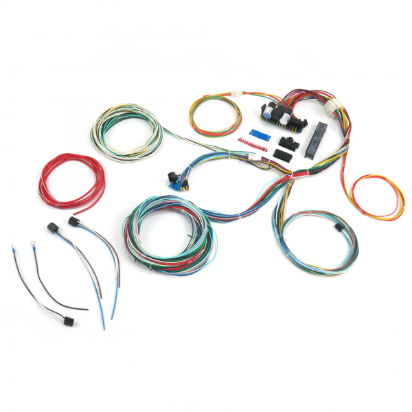 procomp ultra small 15 fuse 24 circuit 118 terminal wire harness rh keepitcleanwiring com Jeep CJ Wiring Harness Wiring Harness Diagram