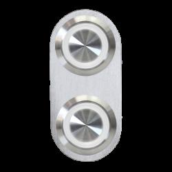 Keep It Clean 10962 Switch Daytona Billet Switch with WHITE LED Illumination Single Switch