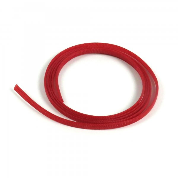 "1/8"" Red Ultra Wrap Wire Loom - 10 Feet 