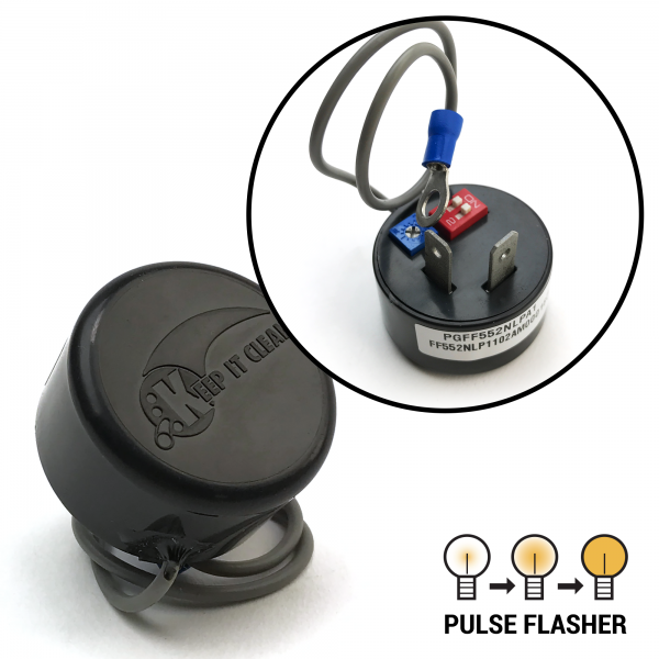 Keep It Clean 10854 Flasher No Load Adjustable Pulse Flasher