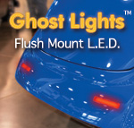L.E.D. Flush Mount Ghost Lights